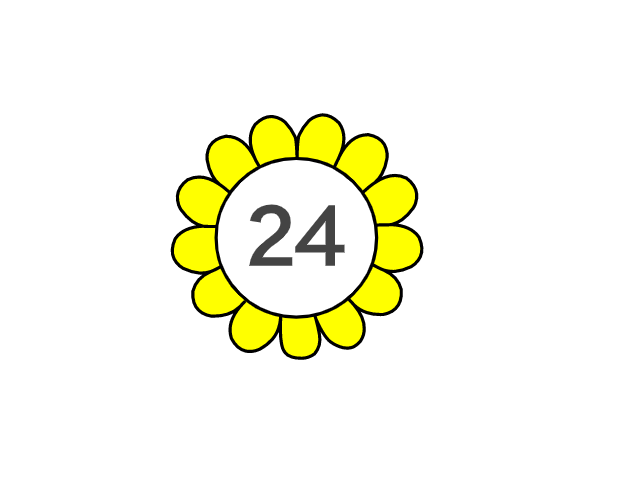 Điều thu hút bạn là bông hoa hay con số?
