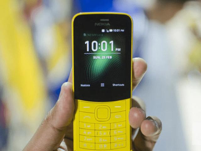 Giao diện màn hình Nokia bàn phím sau khi được mở khóa