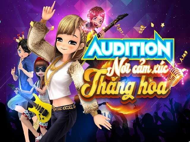Audition là game âm nhạc gây sốt một thời