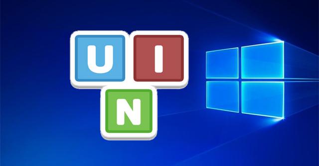 Giao diện Unikey Vista Audition trên màn hình desktop