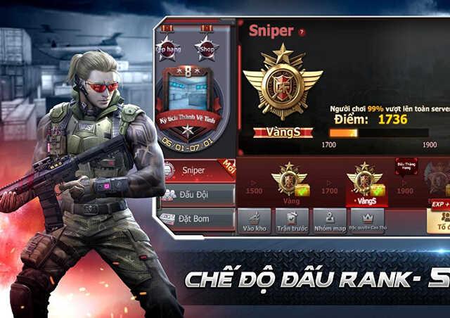CF (đột kích) là huyền thoại của game bắn súng trực tuyến