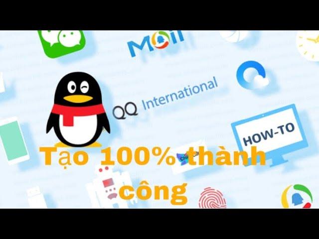 Tạo thành công tài khoản khắc phục lỗi quên mật khẩu QQ
