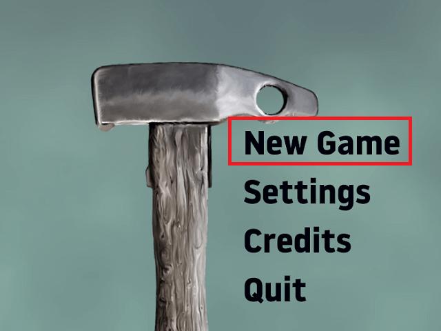 """Nhấn """"New Game"""" để bắt đầu """"chiến"""""""