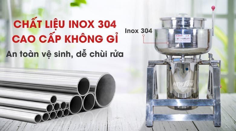 Cối xay bằng inox 304 có giá đắt hơn inox 201
